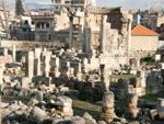Ruins of Round Temple and Temple of Venus