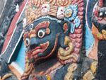 Kala Bhairab at Durbar Square