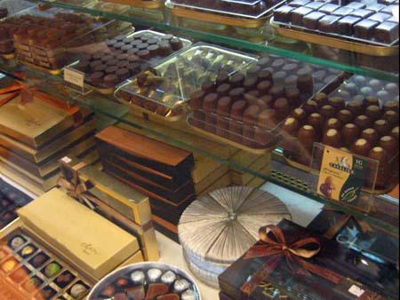 Tantalising array of chocolates