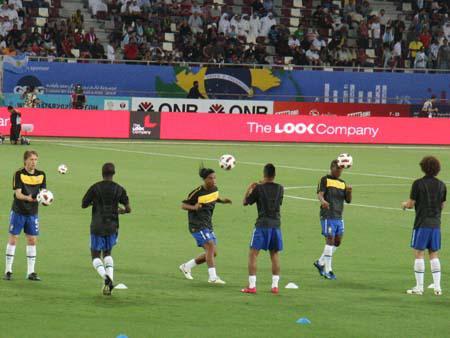 Brazil warming up