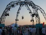 Acrobatic performers