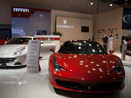Ferrari 458 Spider and Ferrari FF