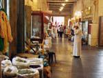One of Souk Waqif hallways, spices for sale