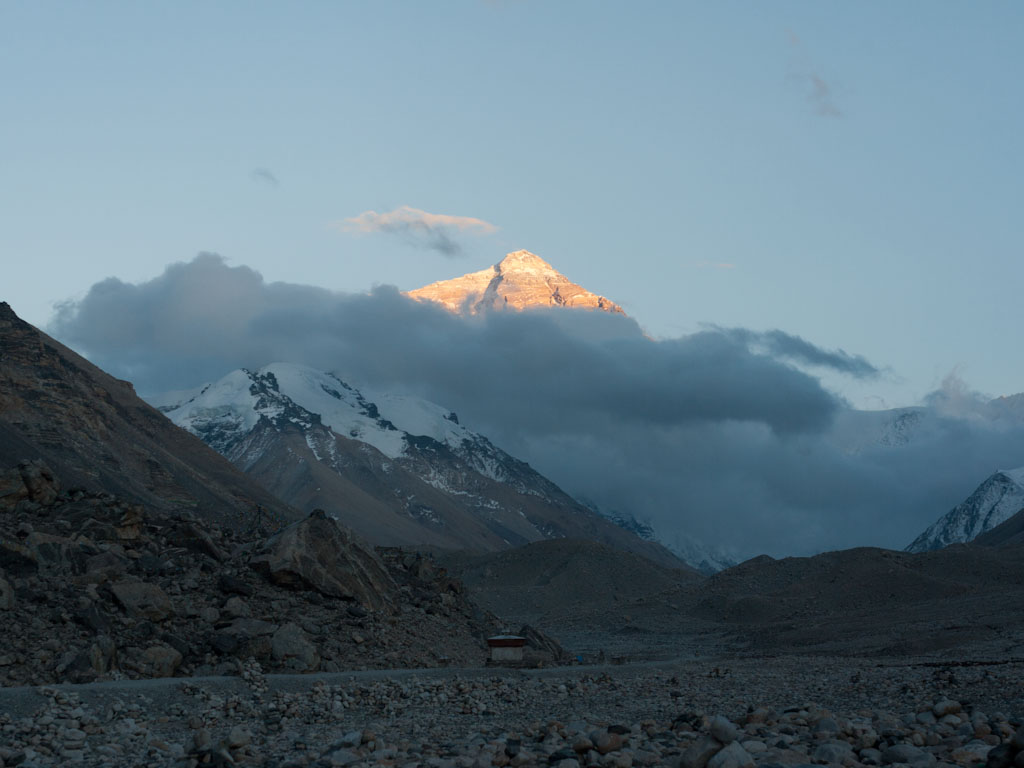 Mount Everest and Everest Base Camp, Tibet - Sonya and Travis