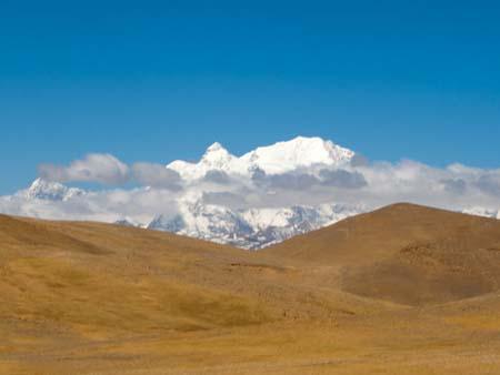 Mount Shishapangma at 8012 metres