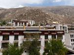 Inner buildings of the Drepung Monastery