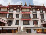 Ganden Phodrang, the residence of Dalai Lama