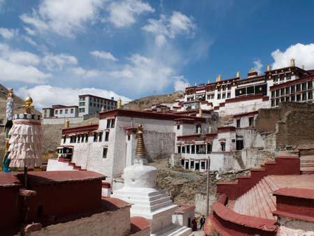 Ganden Monastery taken from the right side