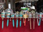 Handheld prayer wheels