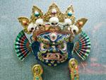 Mask of Black Mahakala (20th century)