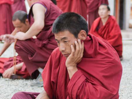 Conducting debates in the Gelukpa tradition