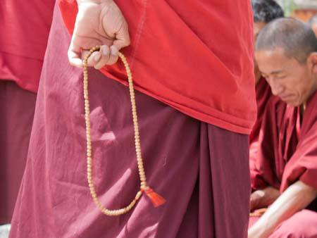 Buddhist prayer beads