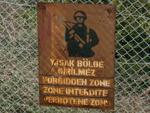 Forbidden Zone sign