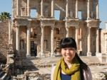 Sonya and the Library of Celsus