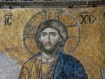 Christ on the Deesis mosaic