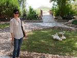 Sonya and some ducks at UAE Heritage Village